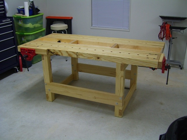 wooden workbench plans pdf | DIY Woodworking Plans