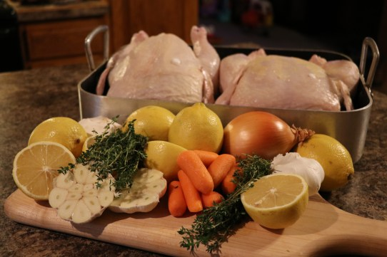 Tims Lemon Roasted Chicken The Woodworking Baker