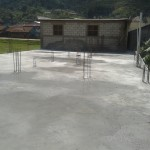 The 2nd floor or terraza of the clinic will soon have its own walls