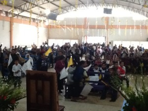 Faithful from Chiapas, Mexico gather to honor Fr. Andres' memory
