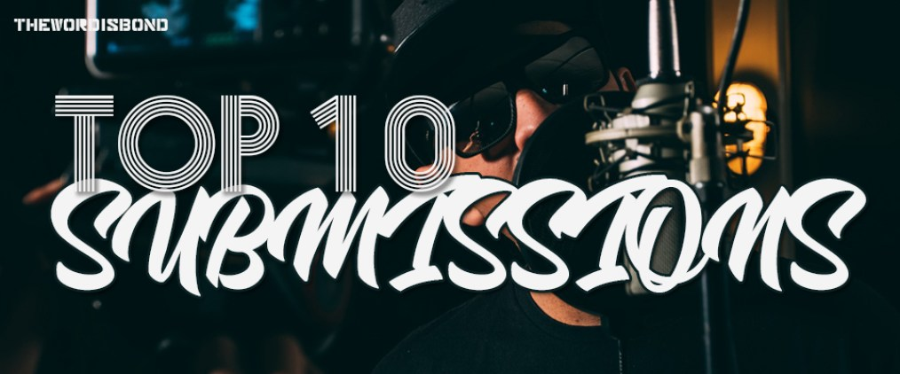 Top 10 submissions EP 1 June 2019 • Word Is Bond