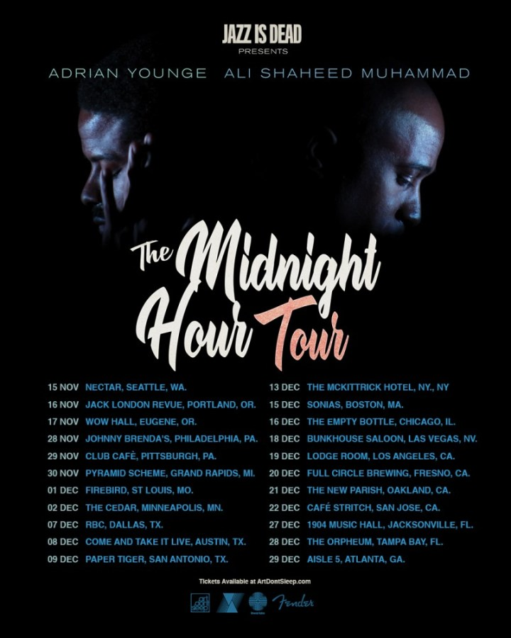 The Midnight Hour is going on tour next month!