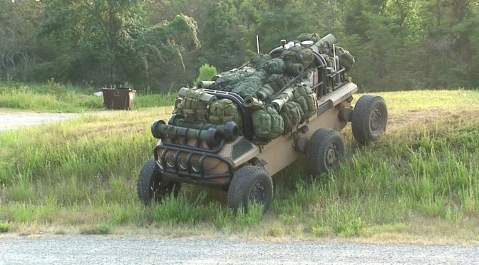 The XM1217 Transport MULE Vehicle (MULE-T) (UGV)