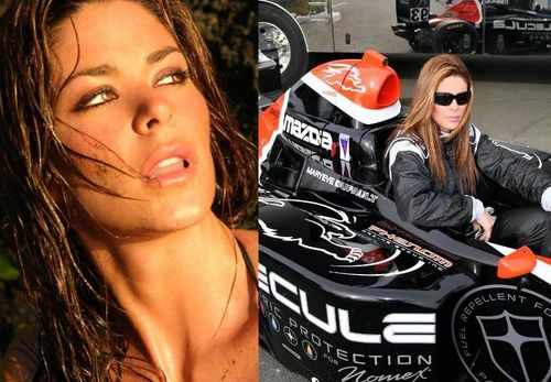 Maryeve Dufault – Who doesn't love a hottie that can drive!