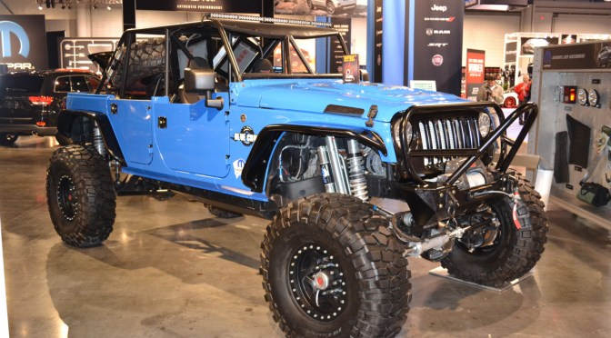 Sema 2011 – Jeep Blue Crush and Porkchop!