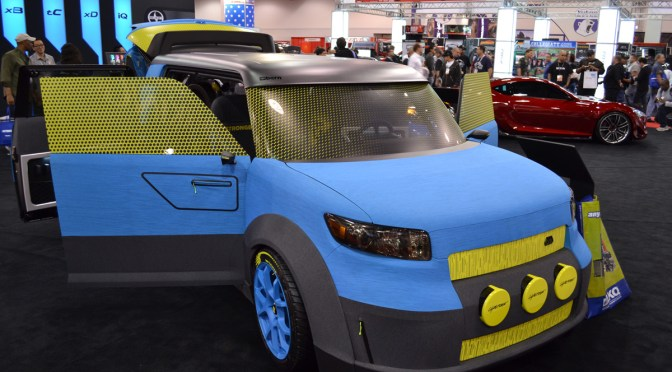 Sema 2011 – 686 and Scion got together to create this!