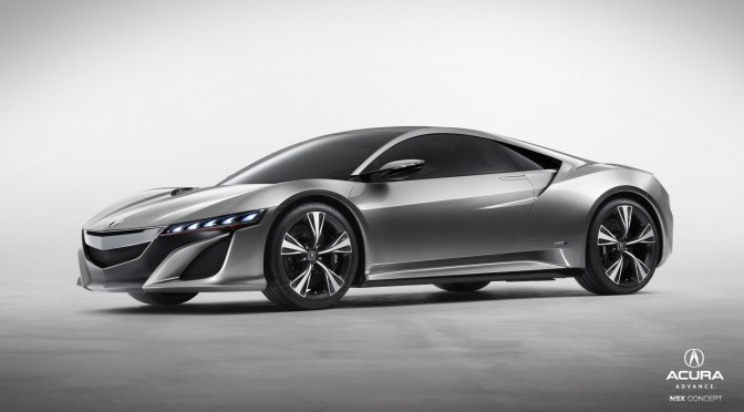 2012 Acura NSX – Concept to reality…