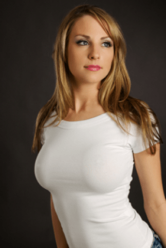 Random internet women #1304, who has a truly excellent pair of breasts.