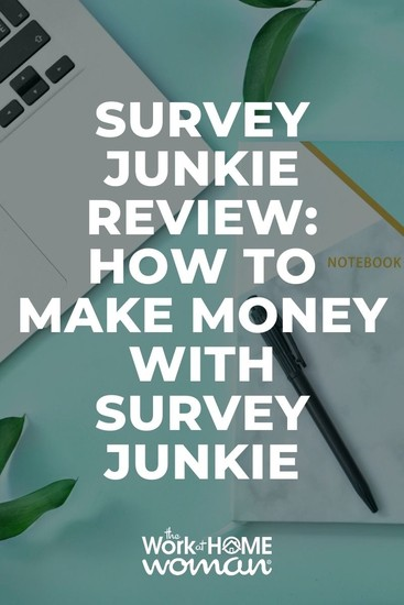 Short on time AND cash? Survey sites and other legit side hustles like Survey Junkie offer an incredible way to make money at home. #tips #hacks #app #review via @TheWorkatHomeWoman