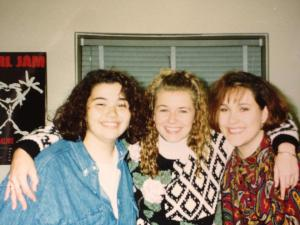 Me, Amy & Jennifer - 1992