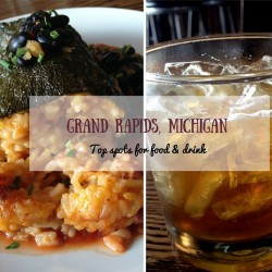 Best spots for food, beer, and cocktails in Grand Rapids, Michigan