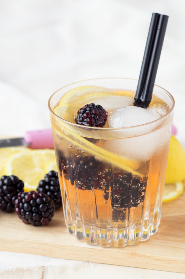 Blackberry Ginger Mocktail
