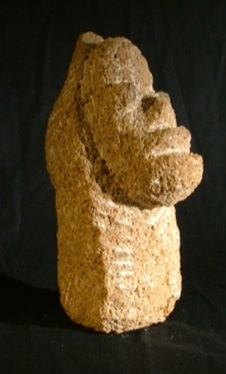 11a Gympie Easter Island Head. Better Side View