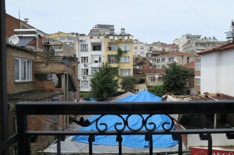 Blick aus unserem Fenster in Sinop