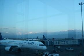 Ankunft in Almaty
