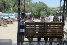 Hollywoodschaukel in Bishkek