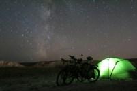 Perfekter Sternenhimmel in Xinjiang