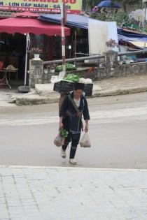 Hmong-Verkäuferin