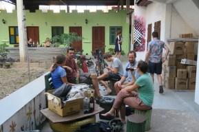Hostelleben mit Andi, Steffi, Nick, Nicolas und Felix