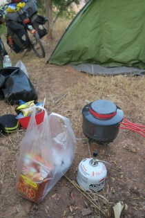 Kochen am Wildcamp