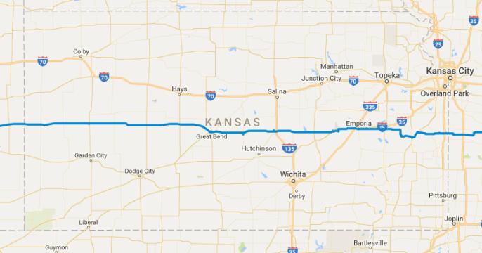 route Kansas
