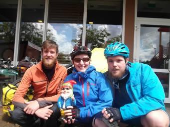 Henri, La Chouffe,Toni und Daniel 2015