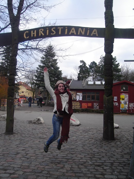 CHRISTIANIA entrance