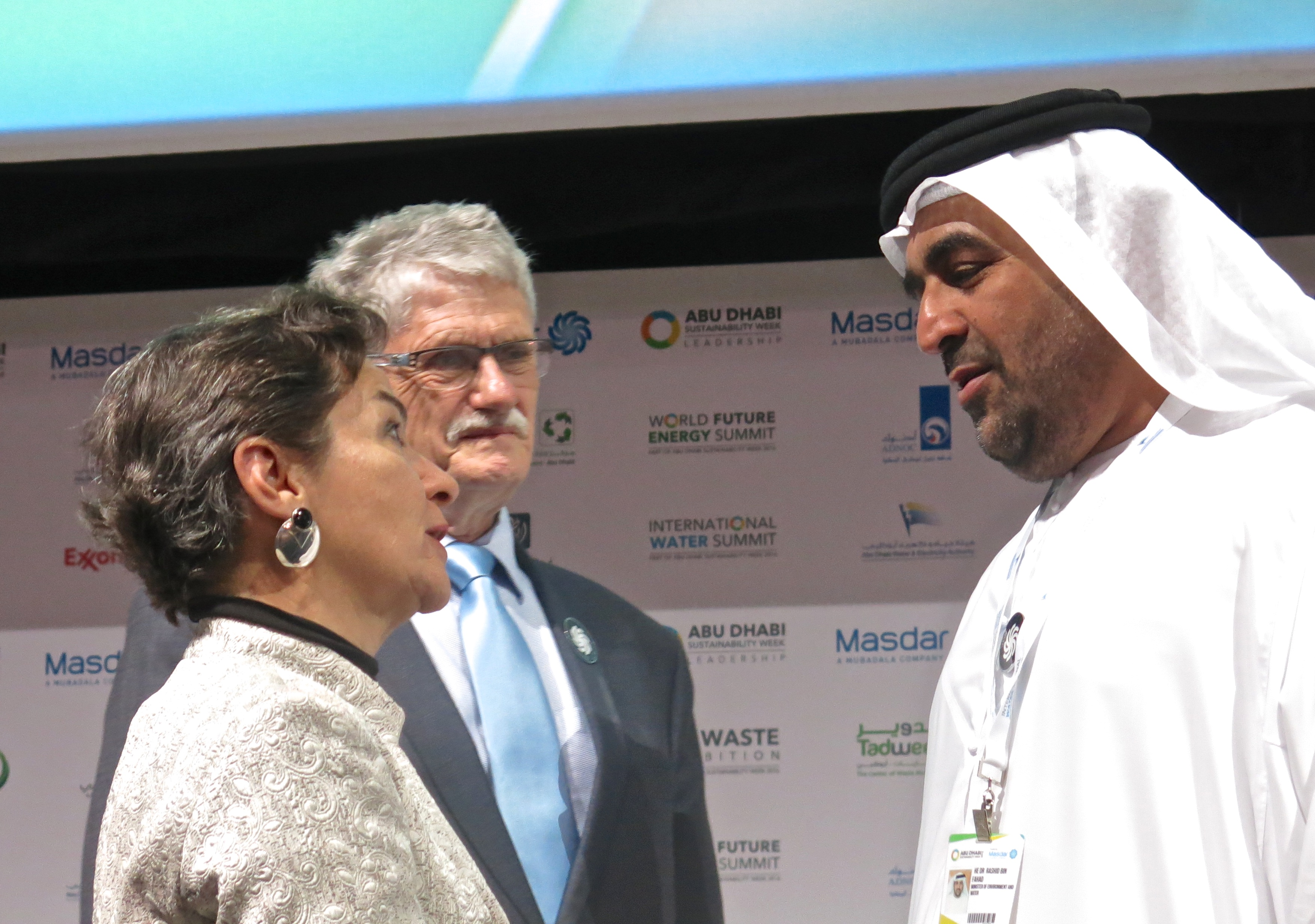 WFES 2016 Christiana Figueres etc