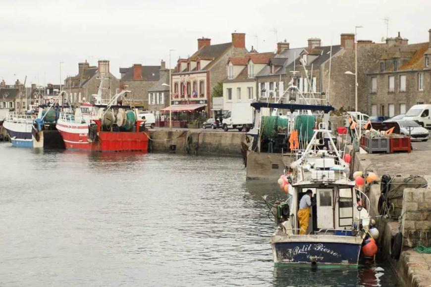 A little French fishing village: Barfleur