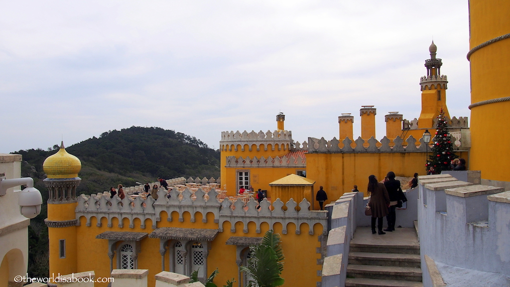 Image result for pena palace spiked wall