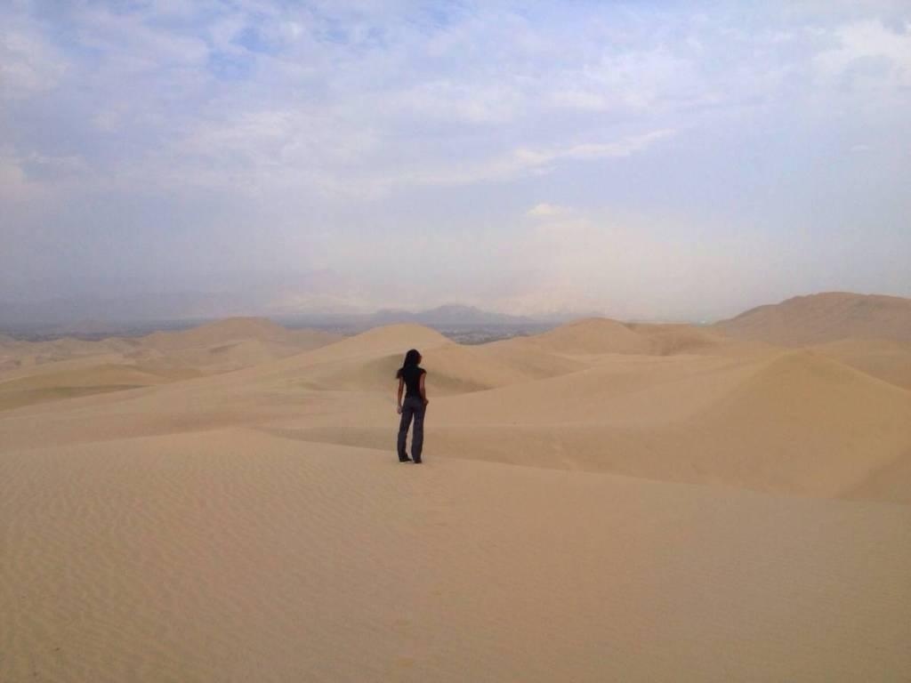 Huacachina, Peru-desert
