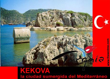 Kekova, la ciudad sumergida del Mediterráneo Kekova, la ciudad sumergida del Mediterráneo kekova turquia