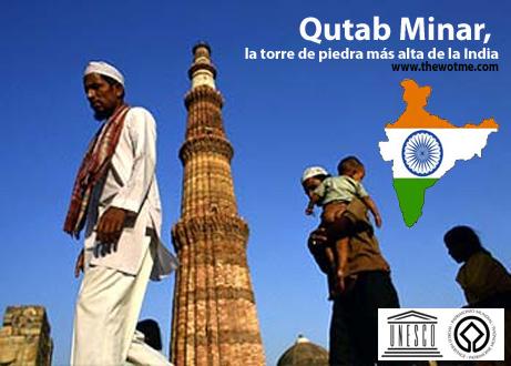 Qutab Minar, la torre de piedra más alta de la India - qutab minar new delhi - Qutab Minar, la torre de piedra más alta de la India