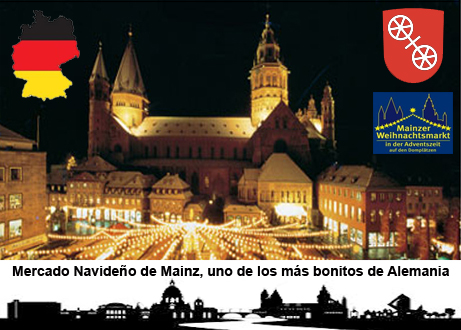 Mercado navideño de Mainz, uno de los más bonitos de Alemania Mercado navideño de Mainz, uno de los más bonitos de Alemania mercado navidad mainz