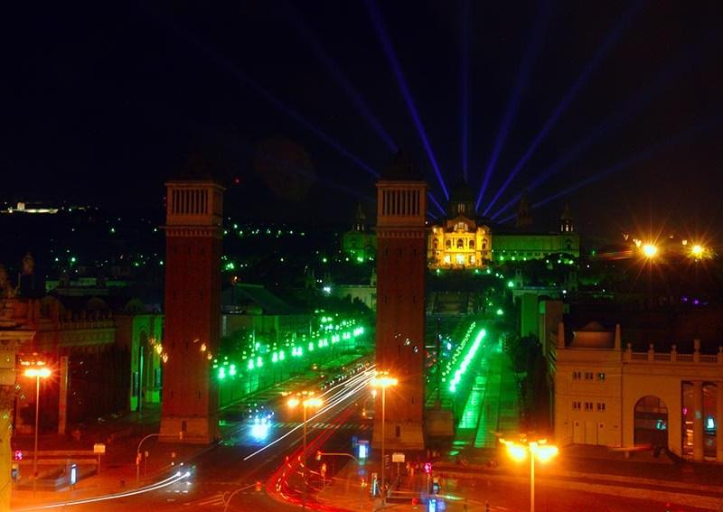 Espectáculo de luces de barcelona barcelona en un fin de semana Barcelona en un fin de semana DSC09098