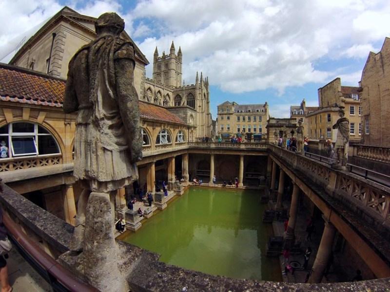 Bath en un día Bath en un día, el SPA de Roma en Inglaterra Bath en inglaterra
