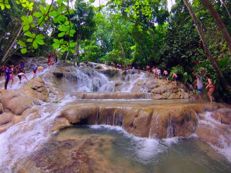 Dunn's river falls de Jamaica Dunn's river falls de Jamaica dunns river falls jamaica