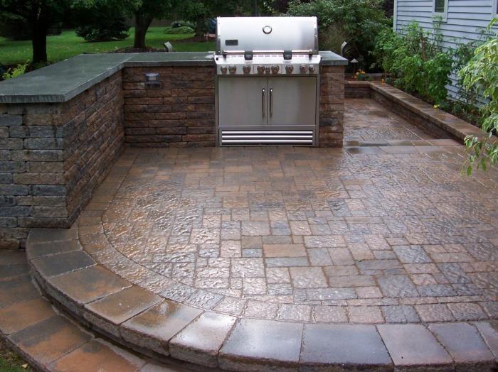20 Cool Patio Design Ideas on Cool Backyard Patio Ideas id=94413