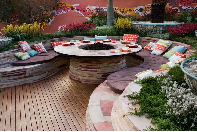 20 Cool Patio Design Ideas on Cool Backyard Patio Ideas id=84810