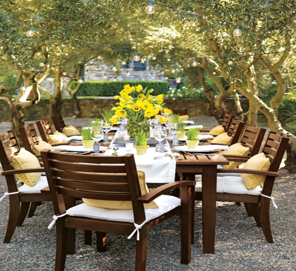 25 Cool Outdoor Dining Room Design Ideas on Backyard Dining Area Ideas id=14716