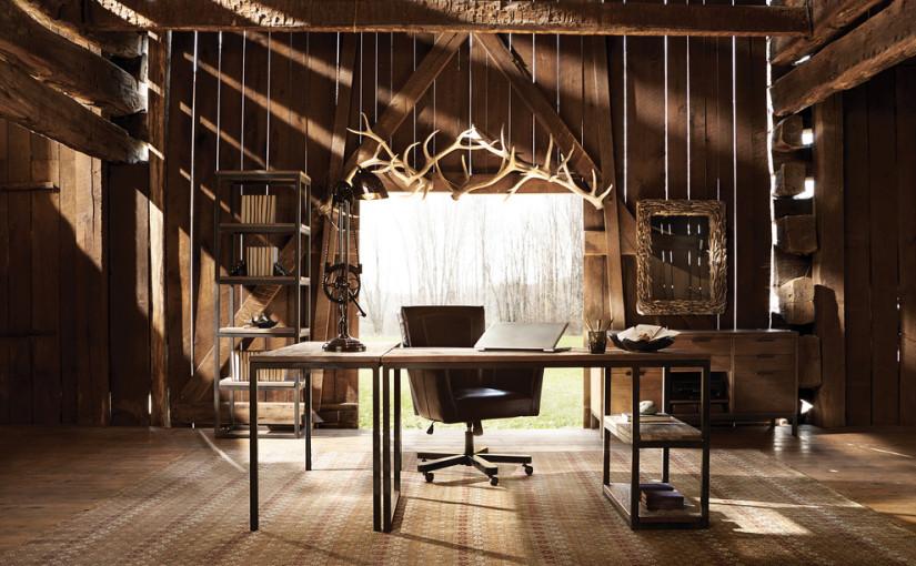 20 Great Farmhouse Home Office Design Ideas