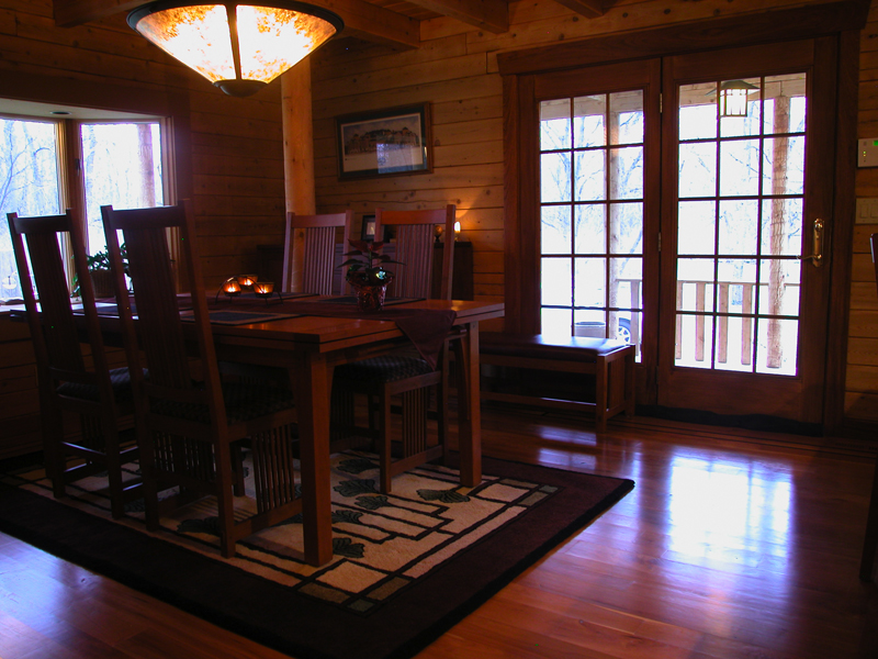 15 Wonderful Craftsman Dining Design Ideas