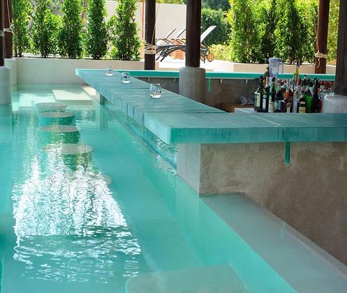 15 Awesome Pool Bar Design Ideas on Backyard Pool Bar Designs  id=68750