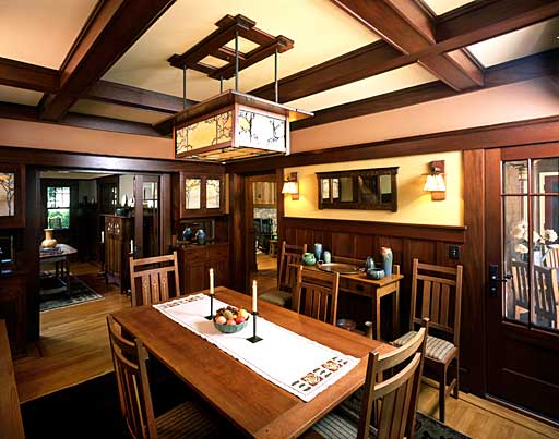 15 Wonderful Craftsman Dining Design Ideas Wonderful Craftsman Dining Design Ideas  powerful dining room design  with wooden furniture in
