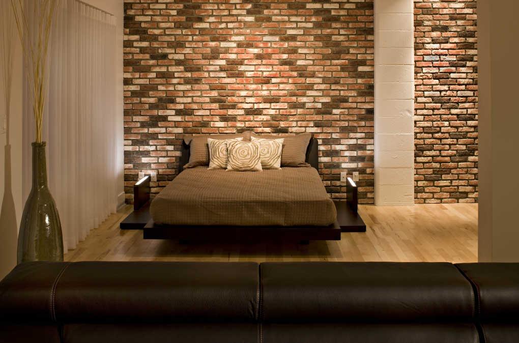 21 Beautiful Brick Wall designs on Brick Wall Decorating Ideas  id=70332