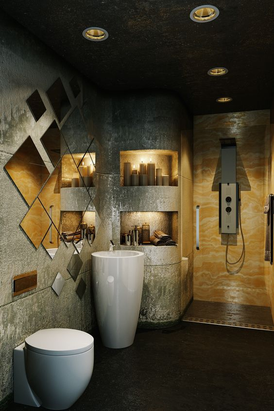 30 Beautiful Small Bathroom Decorating Ideas on Beautiful Bathroom Ideas  id=44691