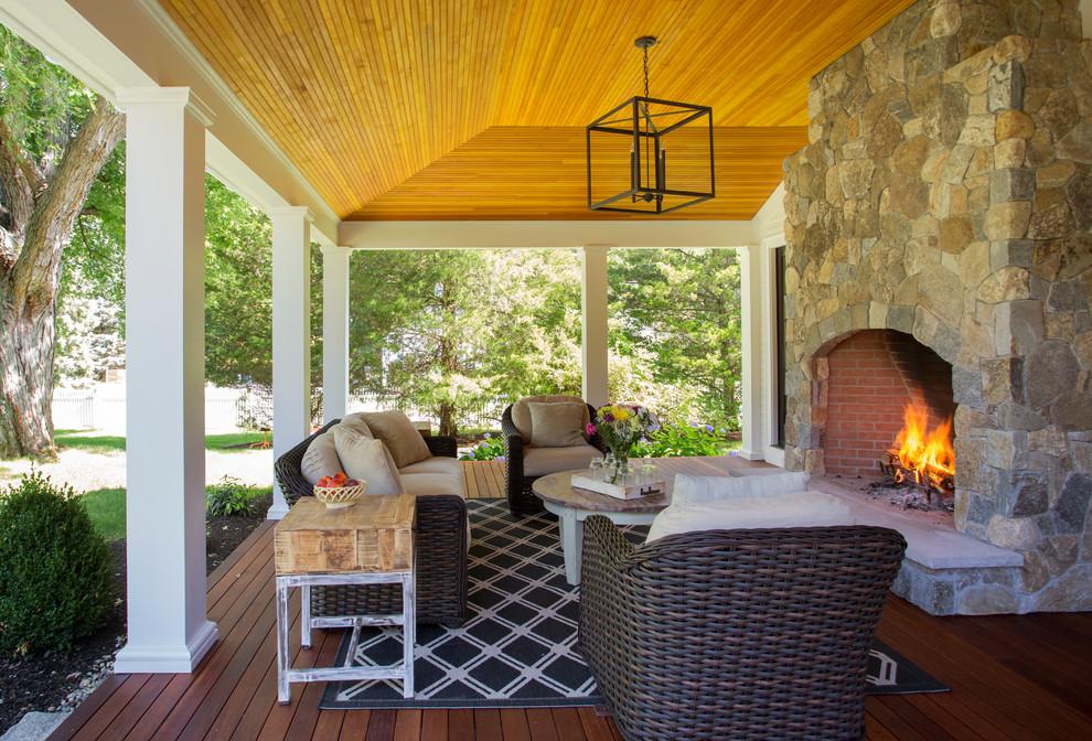 15 Stunning Backyard Porch Design Ideas on Farmhouse Yard Ideas id=46091