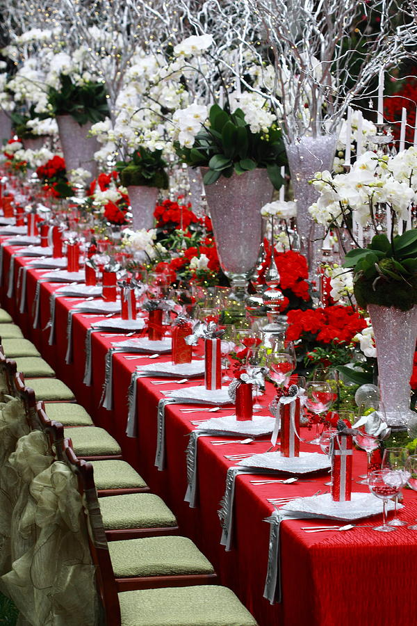 Xmas Table Decoration Ideas