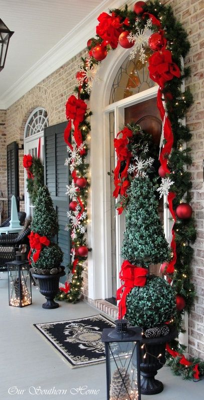 30 Best Outdoor Christmas Decorations Ideas