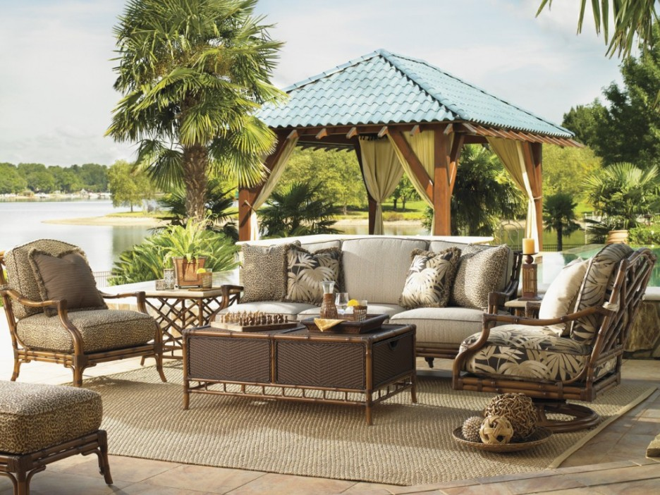 30 Rustic Outdoor Design For Your Home on Backyard Patio Decorating Ideas id=75286
